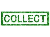 收集grunge办公室印花税 免版税库存图片