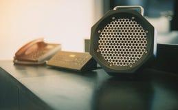 收音机和电话装饰 库存照片