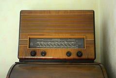 收音机特斯拉BlanÃk 605A在1951年- 1953年生产了 库存照片