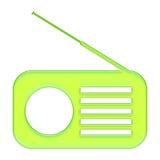 收音机 库存例证