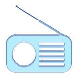 收音机 向量例证