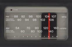 收音机FM上午 库存图片