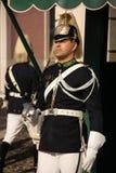 改变卫兵。总统府。里斯本。葡萄牙 库存图片