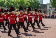 改变的卫兵仪式 免版税库存图片