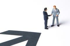 改善指向方式的商业 免版税库存照片