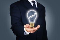 改善的企业想法 免版税库存照片