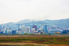 30更改的卫兵7月韩国国王好朋友s汉城南部 釜山 免版税库存照片
