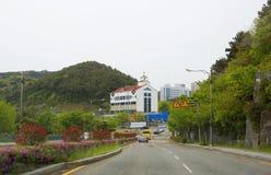 30更改的卫兵7月韩国国王好朋友s汉城南部 釜山 库存图片
