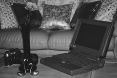 改良 年1991年膝上型计算机 免版税库存图片