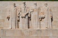 改革墙壁国际性组织纪念碑 免版税库存图片