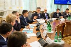 改革的国家会议在基辅,乌克兰 免版税库存照片