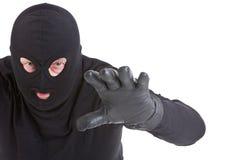 攻击夜贼 库存图片