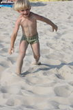 攻击海滩 免版税库存图片