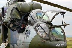 攻击用直升机 免版税库存照片