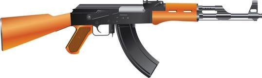 攻击自动步枪 免版税库存图片