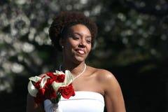 放光的新娘 免版税库存图片