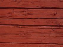 放光的红色墙壁 库存照片