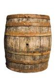 放入木桶内木头 免版税库存图片