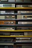 放大器和记录器 免版税库存图片