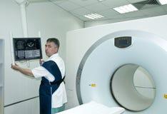 放射学家 免版税库存图片