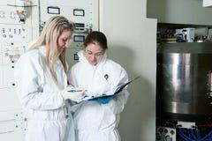 放射性实验室 免版税库存照片