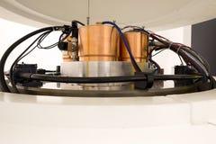 放射性核素综合和同位素生产的回旋加速器机械 图库摄影