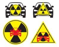 放射性的汽车 免版税库存图片