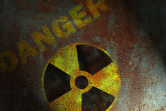 放射性符号 免版税库存照片