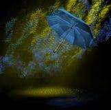 放射性雨 库存图片