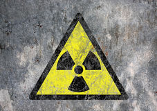 放射性 库存图片