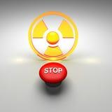 放射性 免版税库存图片