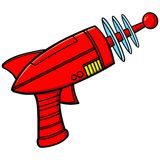 放射枪 皇族释放例证