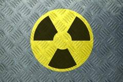 放射线符号 图库摄影
