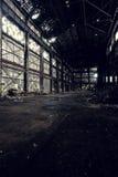 放弃断绝团结的工厂- Youngstown,俄亥俄 免版税库存图片