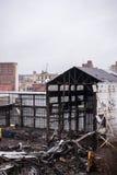 放弃断绝团结的工厂- Youngstown,俄亥俄 图库摄影