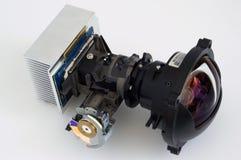 放映机光学机组 库存照片