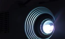 放映机透镜照片 图库摄影