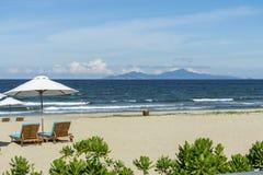 放松在海滩 免版税图库摄影