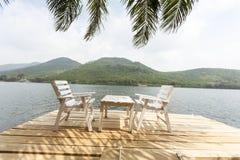 放松在热带 免版税库存图片