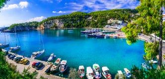 放松平静的hollidays的美丽的Alonissos海岛在希腊 库存图片