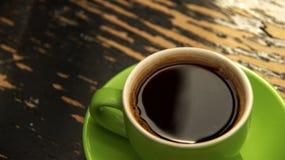 放松并且喝咖啡 库存图片