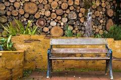 放松的庭院 免版税库存照片