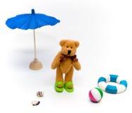 放松的熊 免版税库存图片