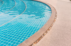 放松的水池 免版税库存图片