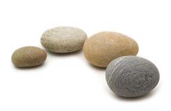 放松石头 免版税库存照片