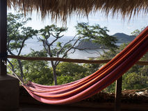 放松-尼加拉瓜的吊床 库存照片