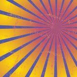 放热,聚合的线,光芒 明亮的星爆炸,镶有钻石的旭日形首饰的背景 图库摄影