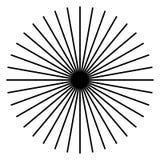 放热,辐形线 Starburst,镶有钻石的旭日形首饰的形状 光芒,射线锂 皇族释放例证