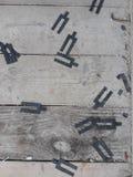放置户外站点的砖建筑 库存照片