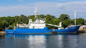 放置船的浮体 免版税图库摄影